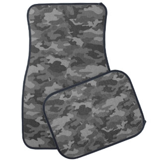 軍隊のカムフラージュ(ダークグレー色)のカーマット カーマット