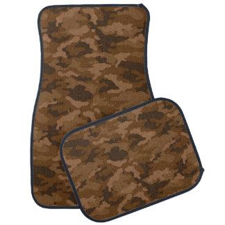 軍隊のカムフラージュ(ブラウン色)のカーマット カーマット