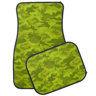 軍隊のカムフラージュ(ライムグリーン色)のカーマット カーマット
