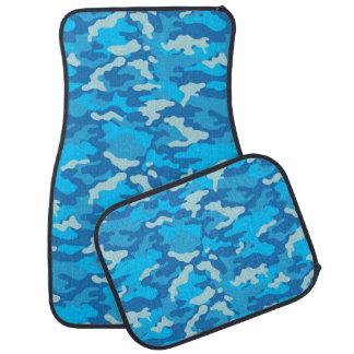 軍隊のカムフラージュ(淡いブルーの色)のカーマット カーマット