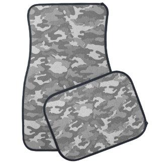 軍隊のカムフラージュ(灰色色)のカーマット カーマット