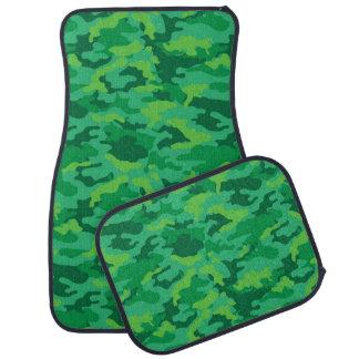 軍隊のカムフラージュ(緑色)のカーマット カーマット