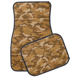 軍隊のカムフラージュ(薄茶の色)のカーマット カーマット
