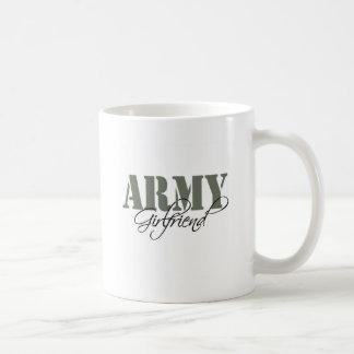 軍隊のガールフレンド コーヒーマグカップ