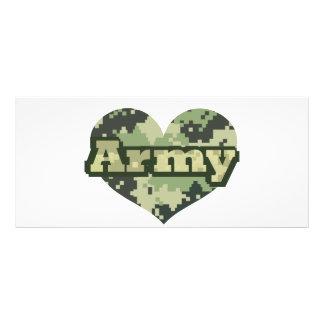 軍隊のハート ラックカード