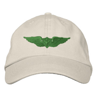 軍隊のパイロット 刺繍入りキャップ