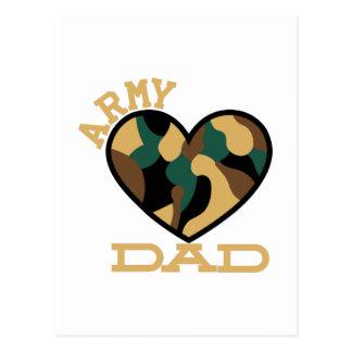 軍隊のパパ ポストカード