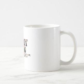 軍隊のパパ-返事呼出し コーヒーマグカップ