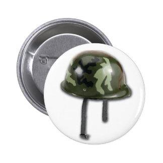 軍隊のヘルメット 5.7CM 丸型バッジ