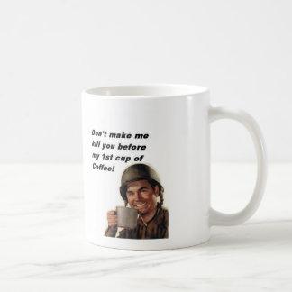 軍隊の人のコーヒー、レーンジャーHooah! コーヒーマグカップ