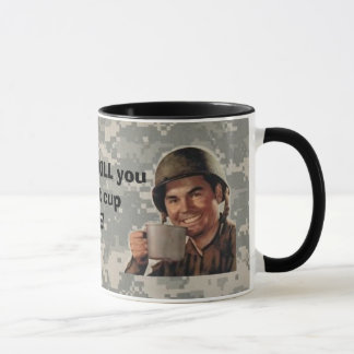 、軍隊の人の平野デジタル、実質のpatc… -カスタマイズ マグカップ