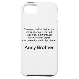 軍隊の兄弟の姉妹問題無し iPhone SE/5/5s ケース