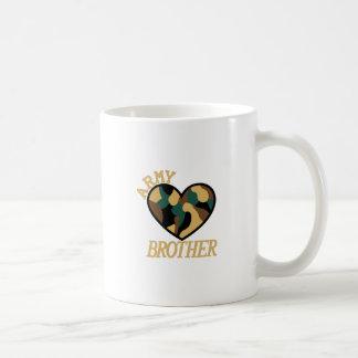 軍隊の兄弟 コーヒーマグカップ
