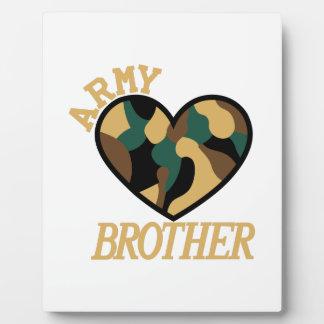 軍隊の兄弟 フォトプラーク