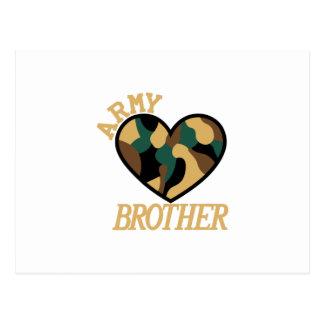 軍隊の兄弟 ポストカード