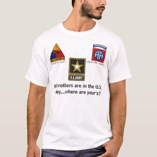 軍隊の兄弟 Tシャツ