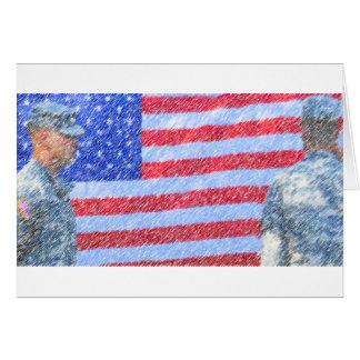 軍隊の兵士 カード