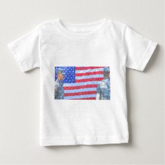 軍隊の兵士 ベビーTシャツ