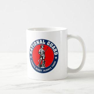 軍隊の国家警備隊のロゴの軍隊 コーヒーマグカップ