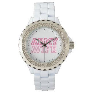 軍隊の妻 腕時計