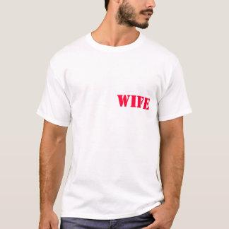 軍隊の妻 Tシャツ