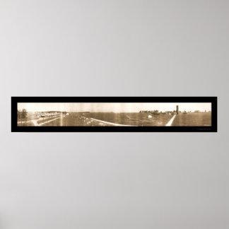 軍隊の射撃場オハイオ州の写真1913年 ポスター