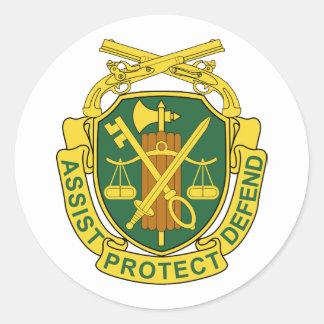 軍隊の憲兵隊 ラウンドシール