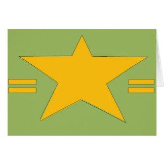 軍隊の星 カード