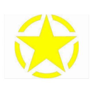 軍隊の星 ポストカード