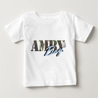 軍隊の男の子 ベビーTシャツ