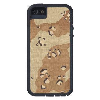 軍隊の砂漠のカムフラージュのiPhone 5/5S Xtremeの場合 iPhone SE/5/5s ケース