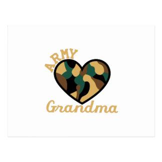軍隊の祖母 ポストカード