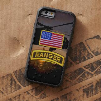 軍隊の空輸のレーンジャーの退役軍人の獣医タブ TOUGH XTREME iPhone 6 ケース
