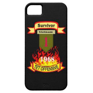 軍隊の第1歩兵の大きい赤1のIPhone 5の場合 iPhone SE/5/5s ケース