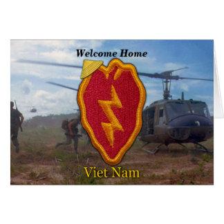 軍隊の第25歩兵部隊のベトナムのnam戦争 カード