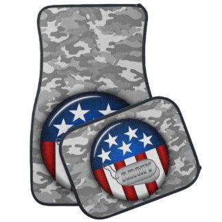 軍隊の紋章の迷彩柄のカムフラージュ#1 カーマット