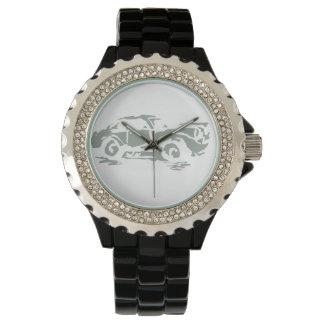 軍隊の緑のニースの乗車 腕時計