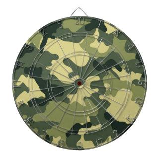軍隊の緑の迷彩柄のダート盤 ダーツボード