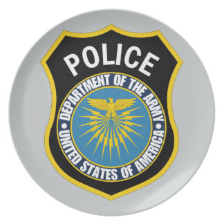 軍隊の警察の部門 プレート
