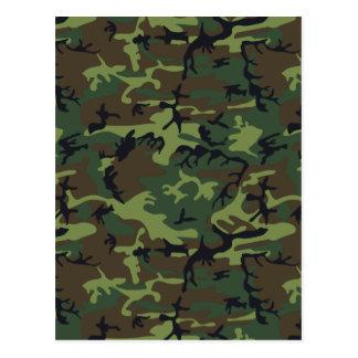 軍隊の迷彩柄 ポストカード