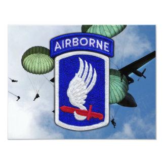 軍隊の173rd空挺旅団のnamパッチ カード
