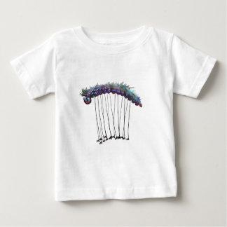 軍隊みみず ベビーTシャツ