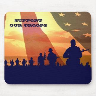 軍隊を支援。 軍のギフトのマウスパッド マウスパッド
