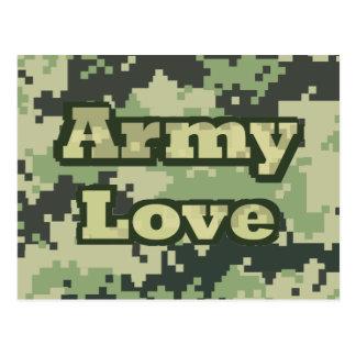 軍隊愛 ポストカード