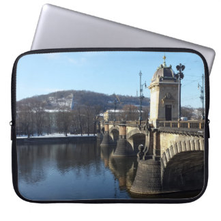 軍隊橋、プラハのラップトップスリーブ ラップトップスリーブ