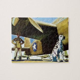 軍隊犬 ジグソーパズル