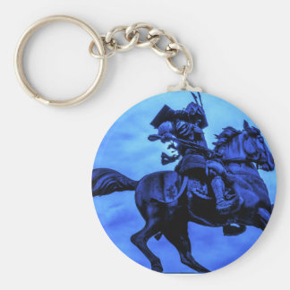 軍馬の武士 キーホルダー