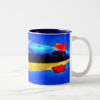 軟式小型飛行船 ツートーンマグカップ