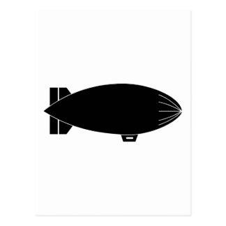 軟式小型飛行船 ポストカード