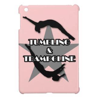 転落およびトランポリンのipadの小型場合 iPad miniカバー